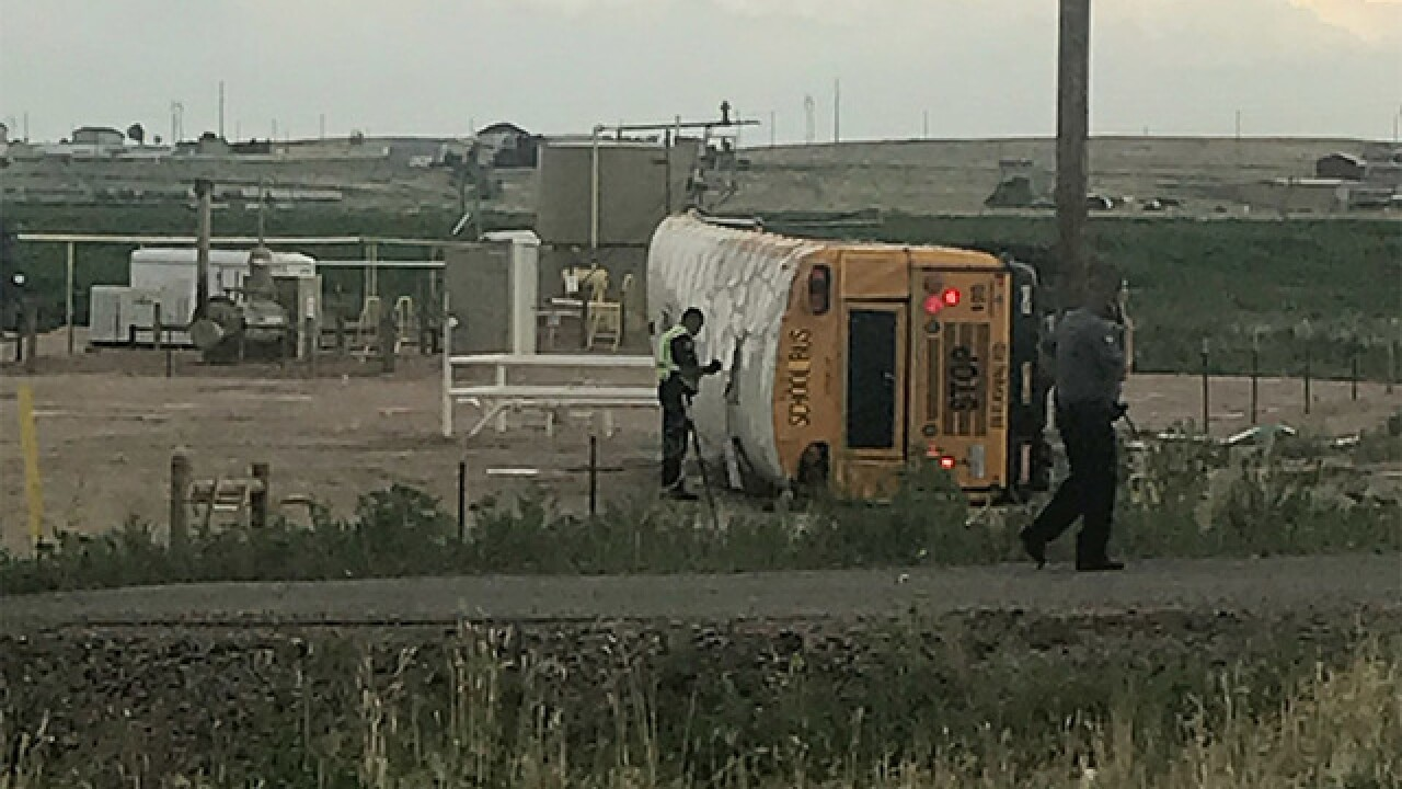 Multiple injuries reported in Weld County crash
