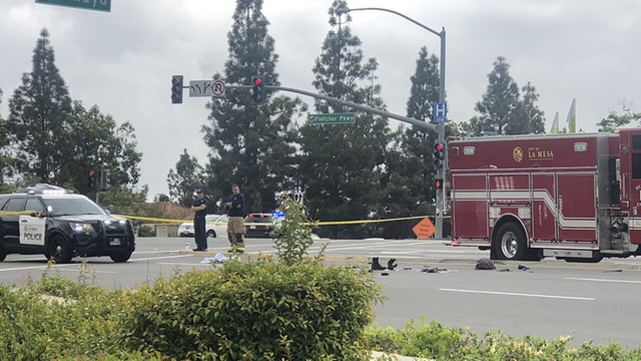Officer-involved shooting reported in La Mesa