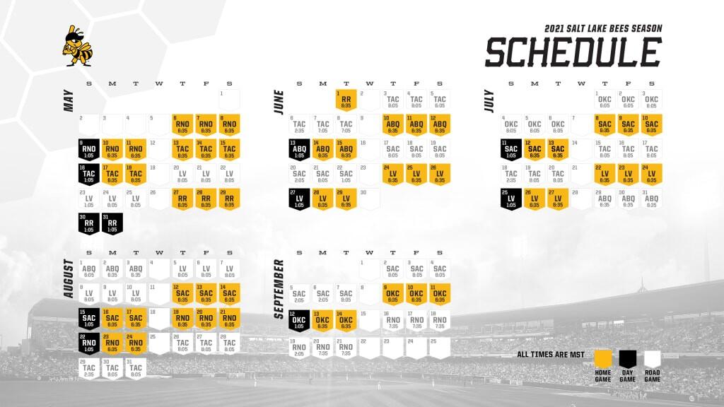 Bees Schedule