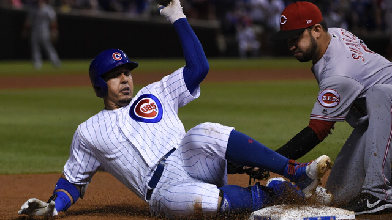 Homers by Bryant, Rizzo power Cubs to 15-5 rout of Reds
