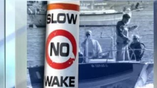 no wake slow wake