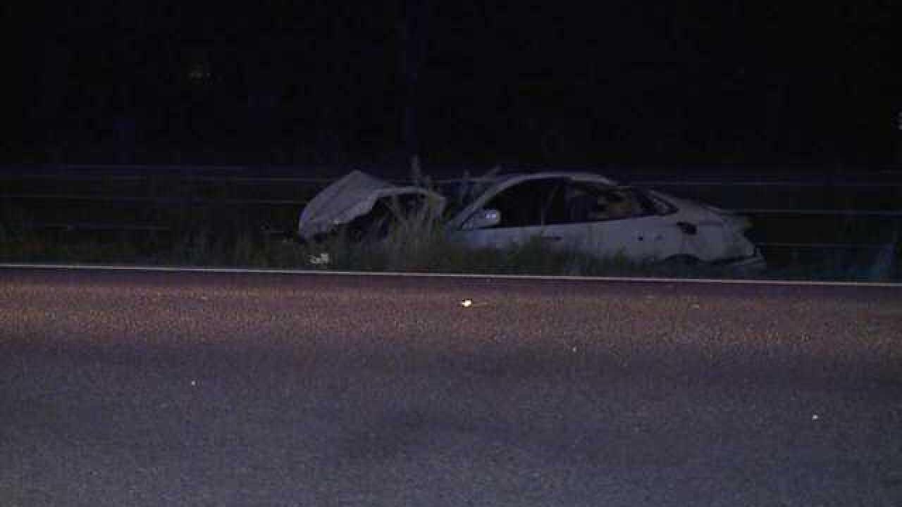 Deadly crash on SB I-75