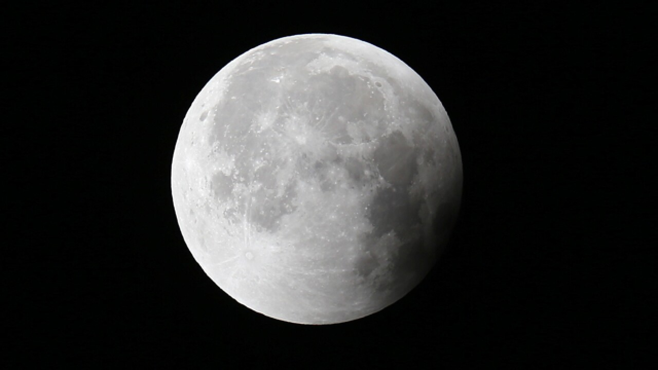 See a partial lunar eclipse Wednesday morning