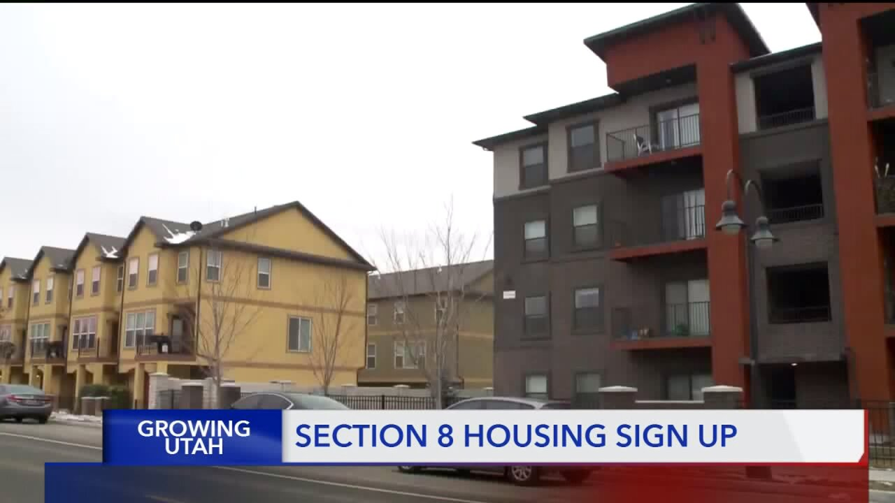 'Section 8' program helps Utahns pay their rent if they can't pay what marketdemands