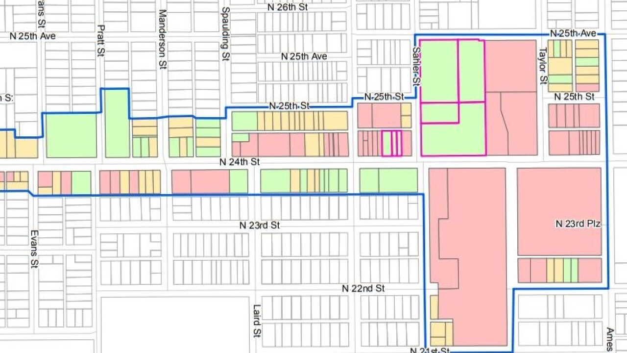 N 24TH STREET Business improvement district bid north