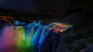 Shoshone Falls to light up after dark throughout May