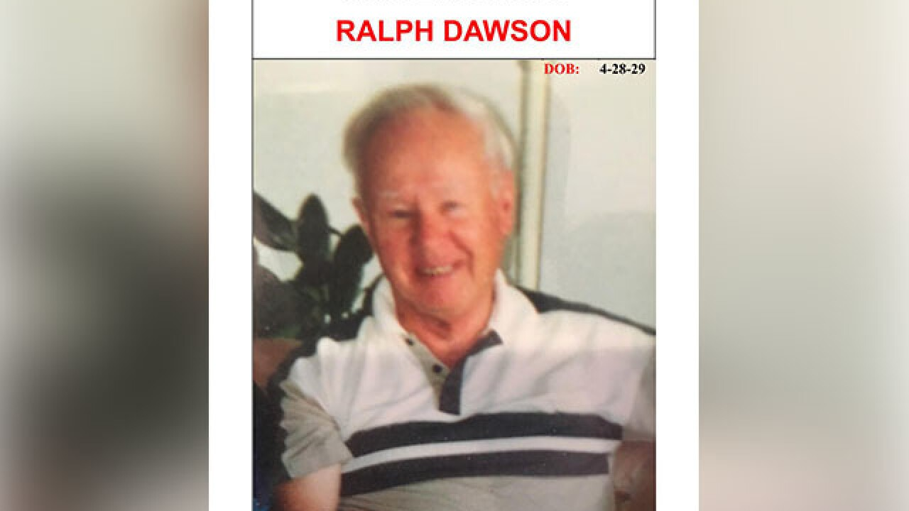 Search ongoing for missing 89-year-old man
