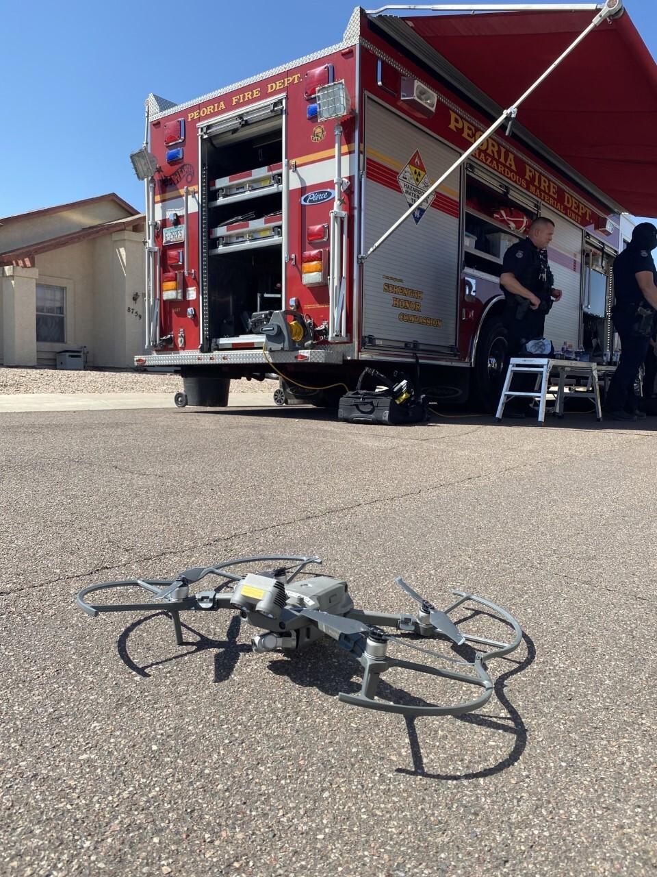 Peoria Death Investigation Drone