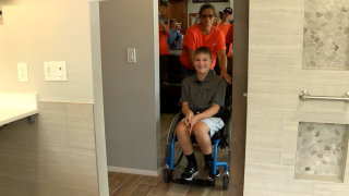 Florida boy with neuromuscular disorder gets new ADA compliant bathroom from community