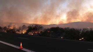 Black Mesa Fire 8-21-19