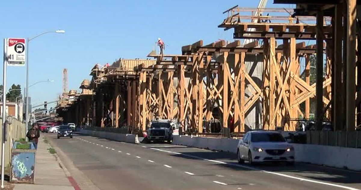 La Jolla Village Drive reopened after construction finishes early