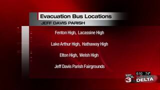 Jeff Davis bus evacuation