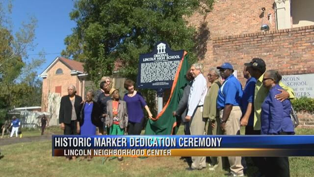 Lincoln Neighborhood Service Center Honored with Historic Marker