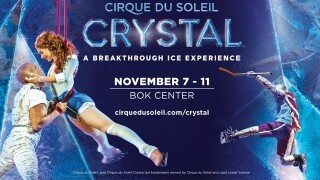 Watch 2 Win: Five winners to receive tickets to Cirque du Soleil Crystal at BOK Center November 7
