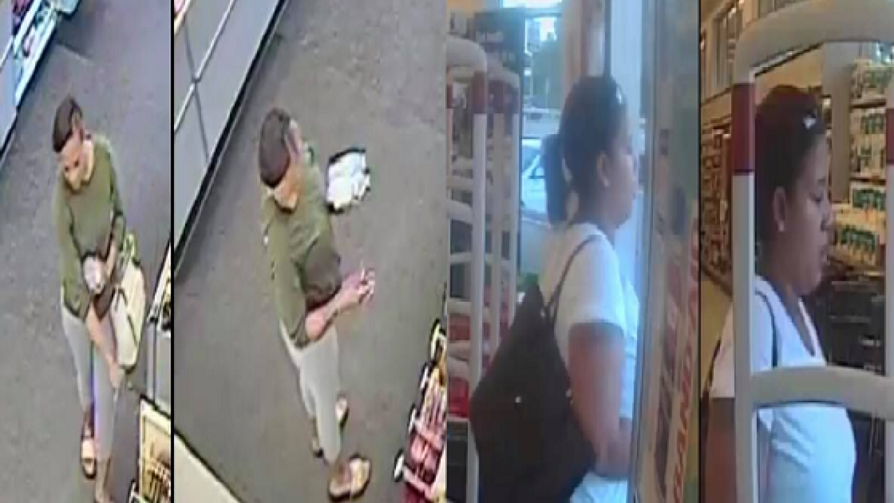 Police Suspects involved in vehicle burglary used victim's credit cards at several businesses.png