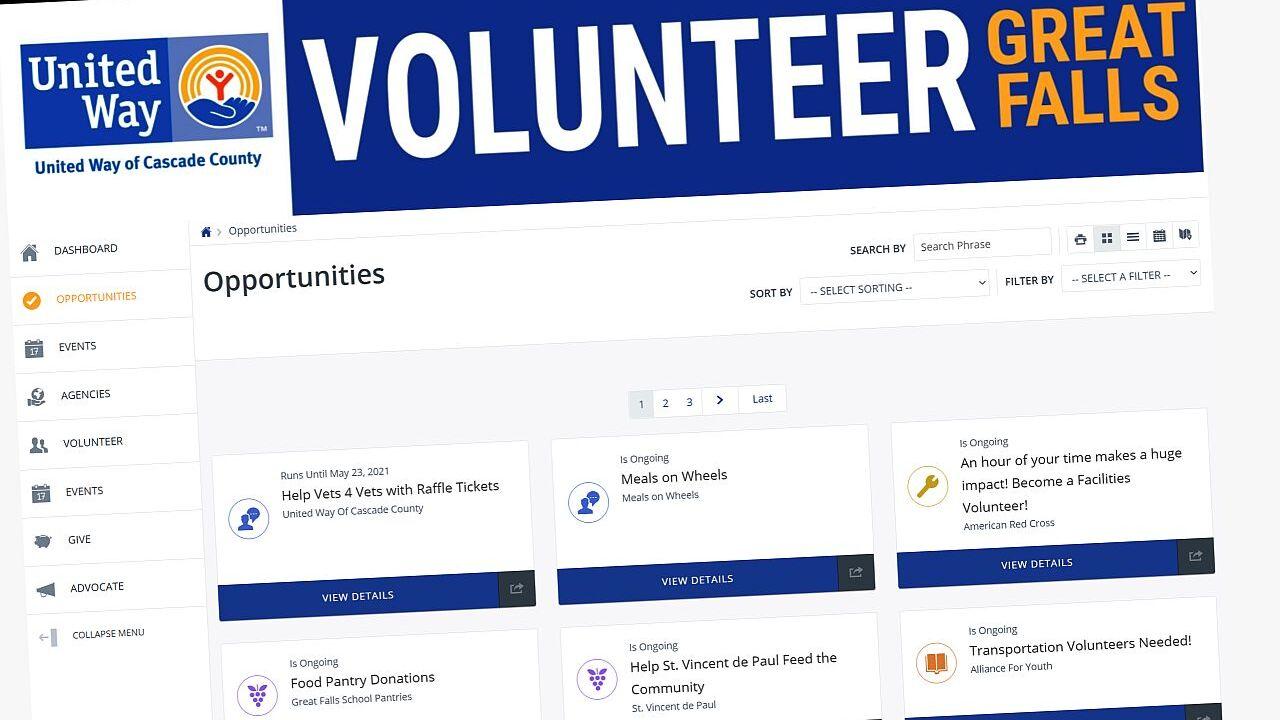 Volunteer Great Falls website