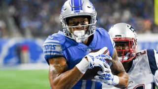 Lions receiver Marvin Jones Jr. and wife donate food trucks to feed hospital employees