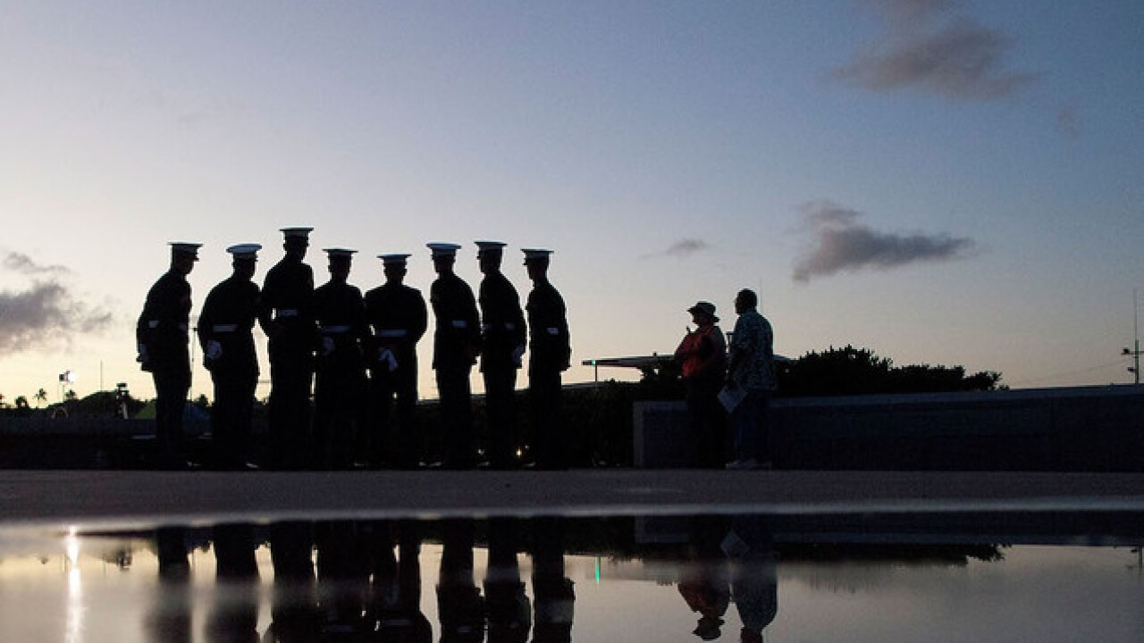 Photos: Remembering the attack at Pearl Harbor on the 75th anniversary