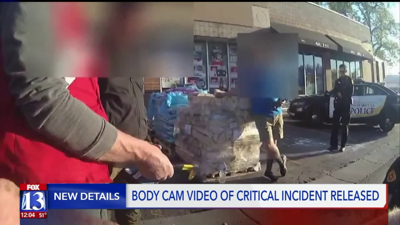 SLC Police release video after deadly altercation between suspected shoplifter and storeemployees