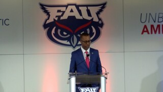 Willie Taggart introduced as FAU Owls head football coach in December 2019