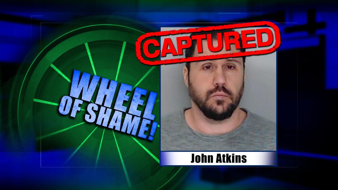 Wheel Of Shame Arrest: John Atkins