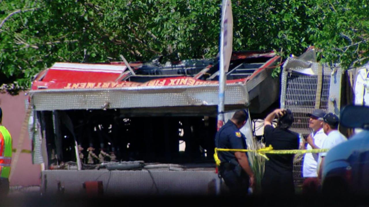 Phoenix Fire Department crash