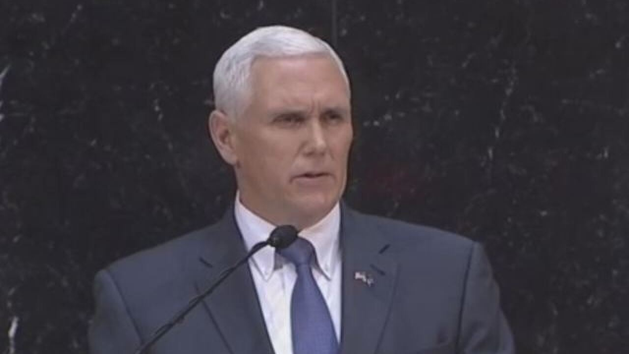 Pence favors religious freedom in LGBT debate