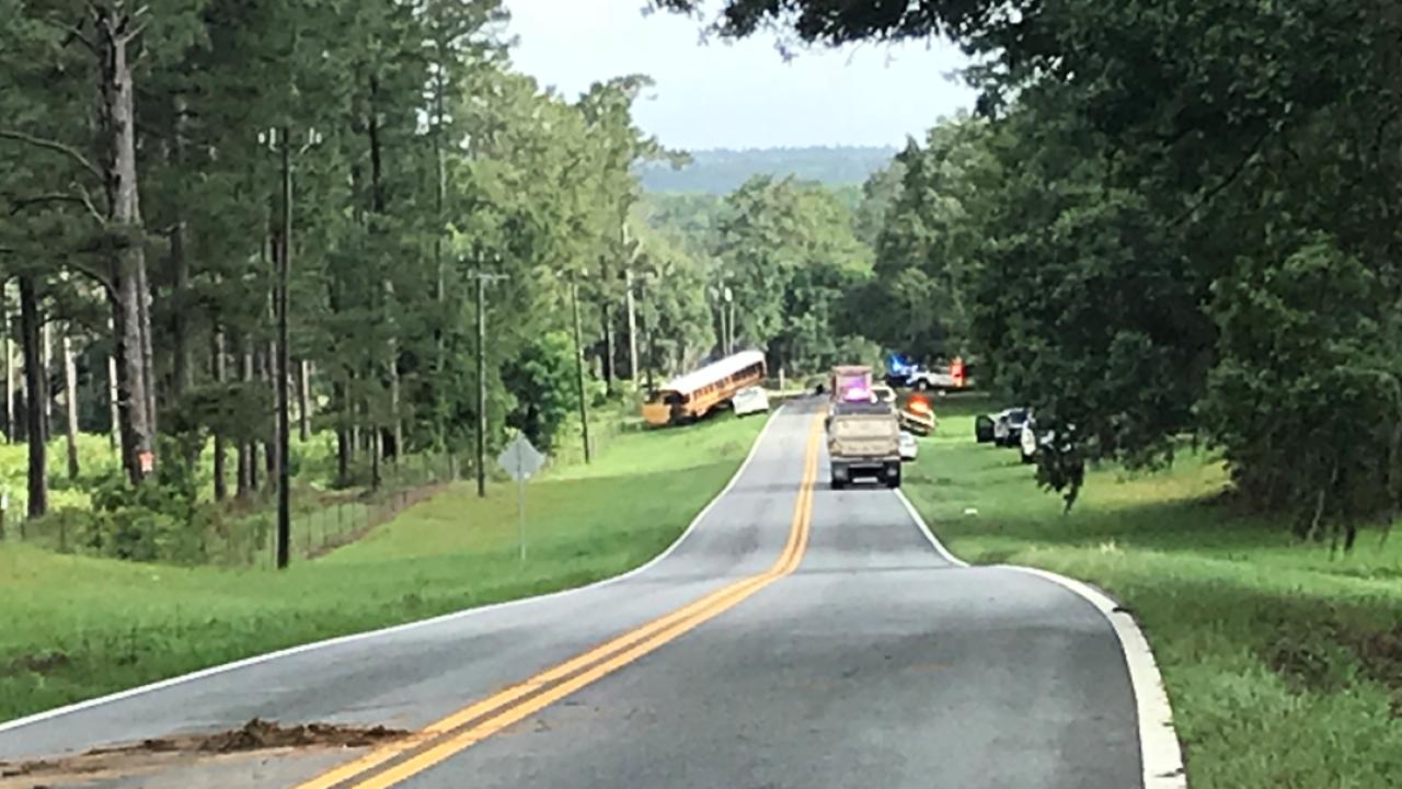 Person dies in crash involving Leon County Schools bus