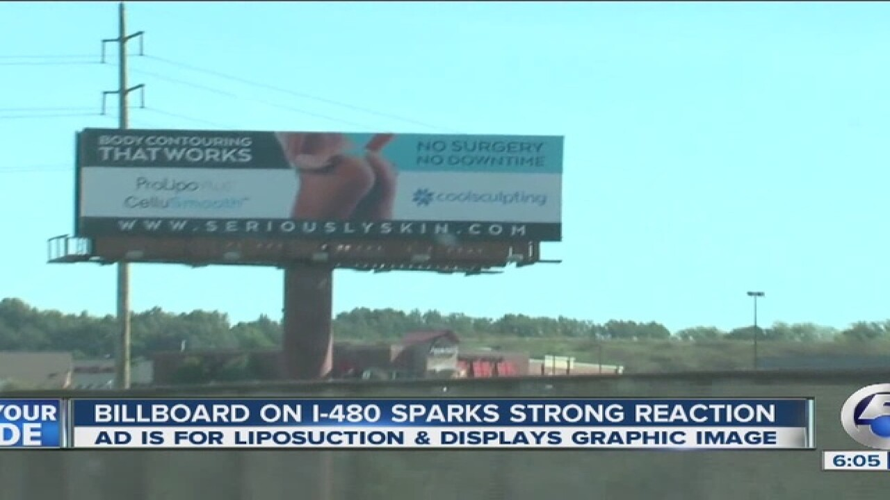 VIDEO: Is this local billboard too provocative?
