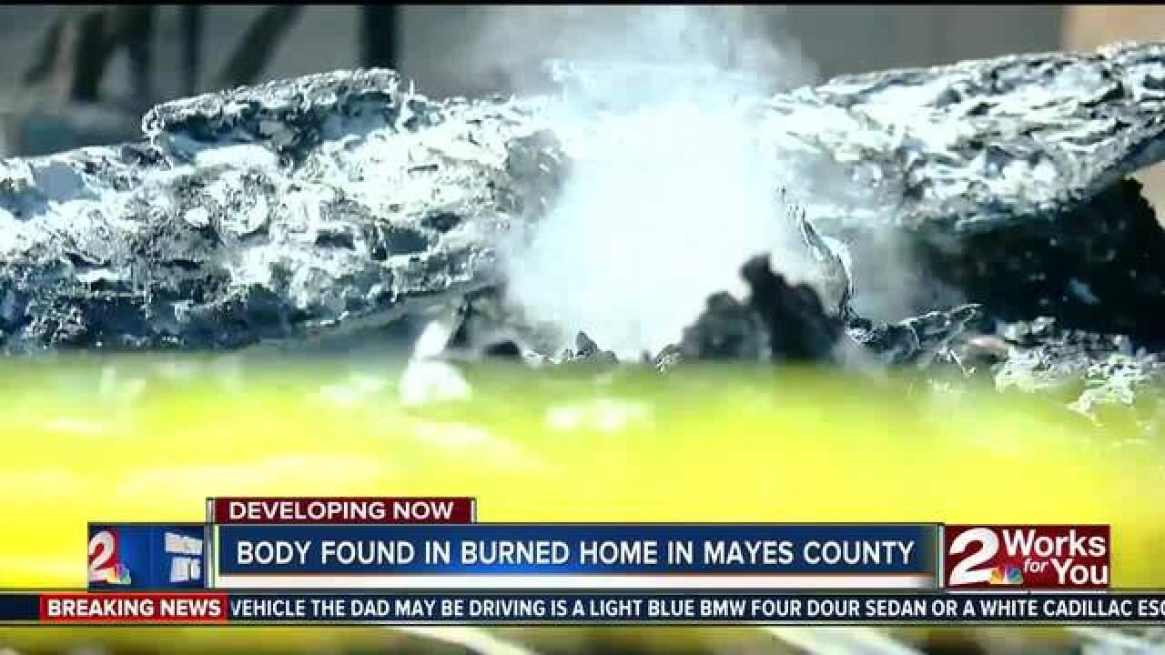FATAL FIRE: Body found in trailer home