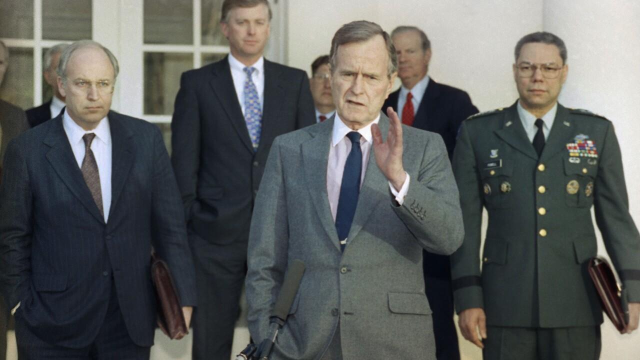 George HW Bush AP