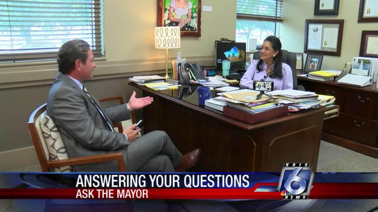 Mayor talks COVID-19, recycling, trees