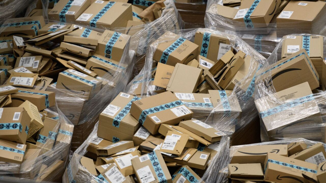 Amazon's new waste-reduction strategy: Deliver only once per week