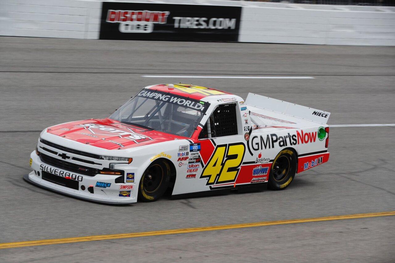 Carson Hocevar's No. 42 truck