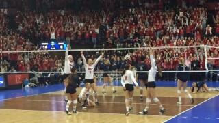 Nebraska volleyball sweeps Colorado, advances to Elite Eight