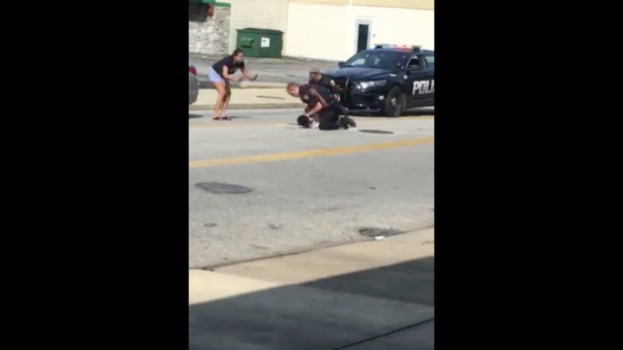 Euclid police officer suspended after video of arrest goes viral
