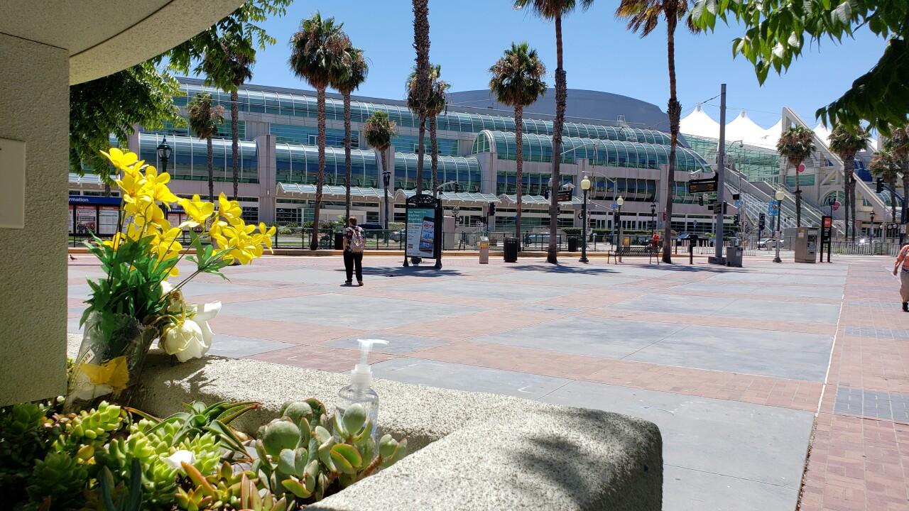 comic con 2020 tribute outside convention center_2.jpg