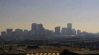 Denver smoke haze wildfires aug 14 2020