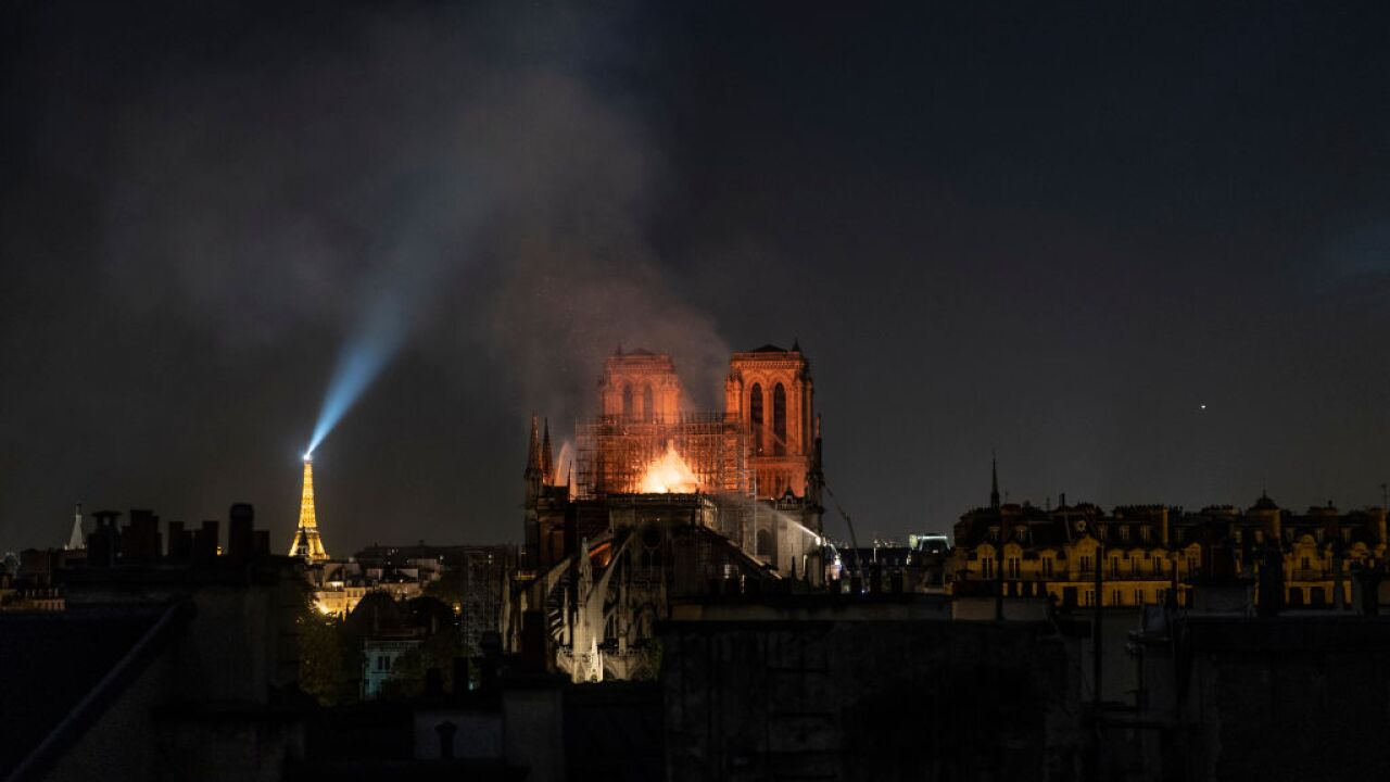 The internet is already awash in Notre Dame conspiracies