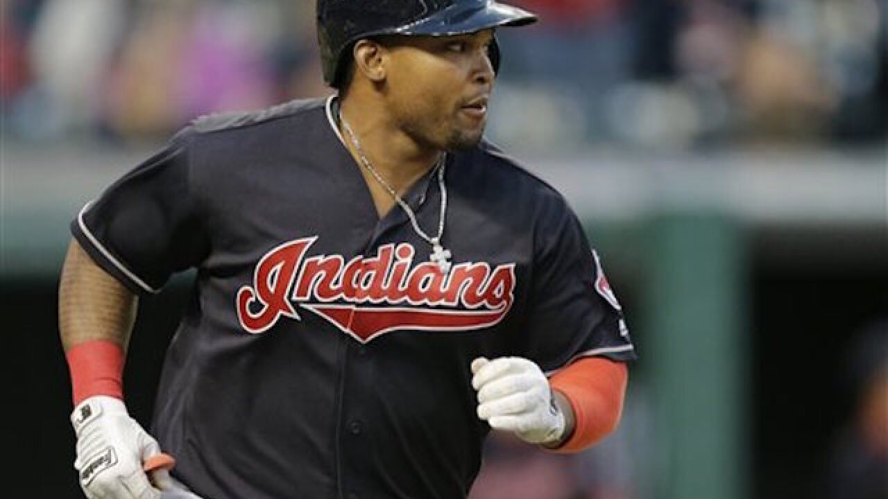 MLB suspends Indians' Marlon Byrd for 162 games