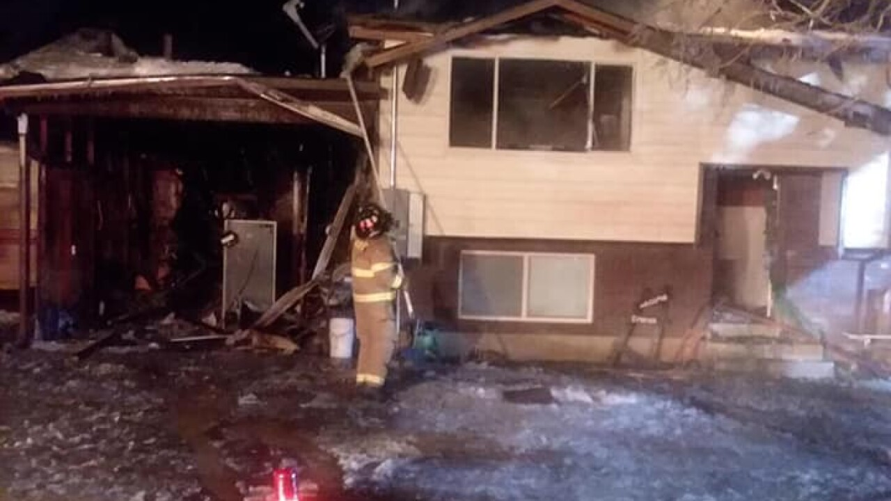 Morgan home destroyed in fire