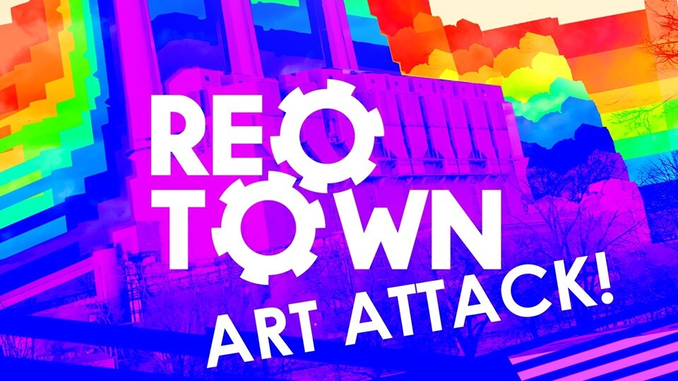 Reo Town Art Attack