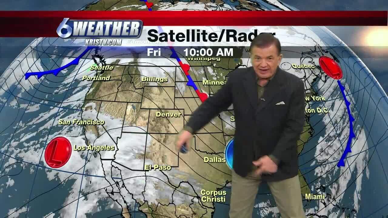 Maclovio Perez's noon forecast