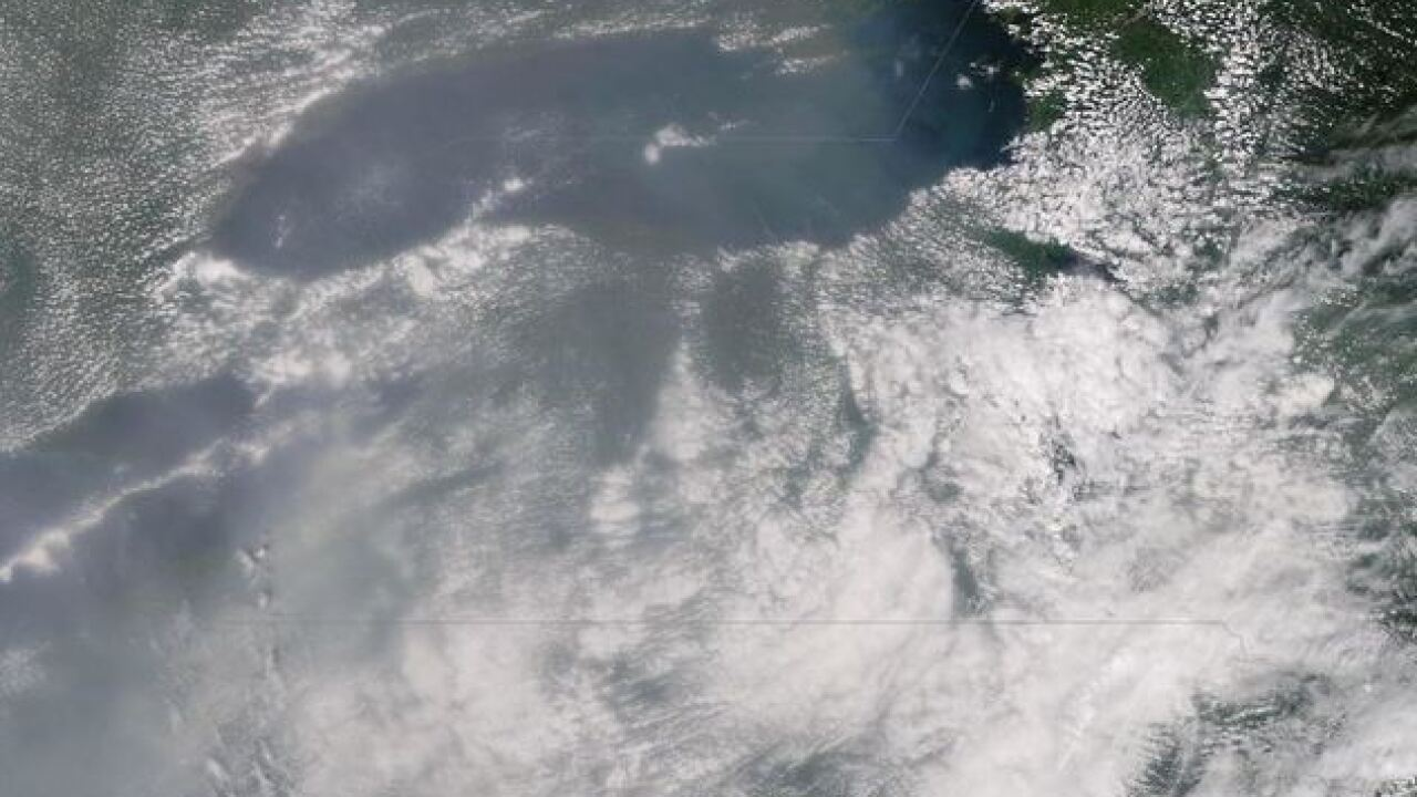 Smoke from wildfires clouds Western New York