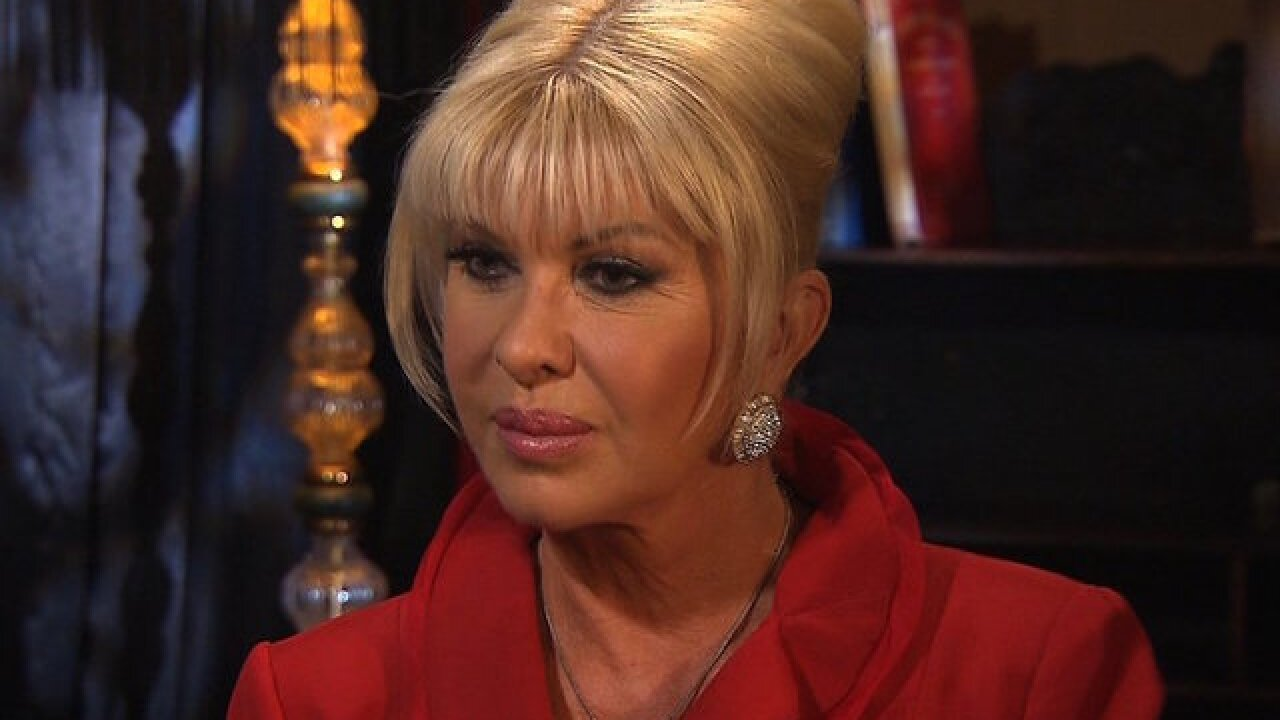 Ivana Trump says the US President is 'definitely not racist'