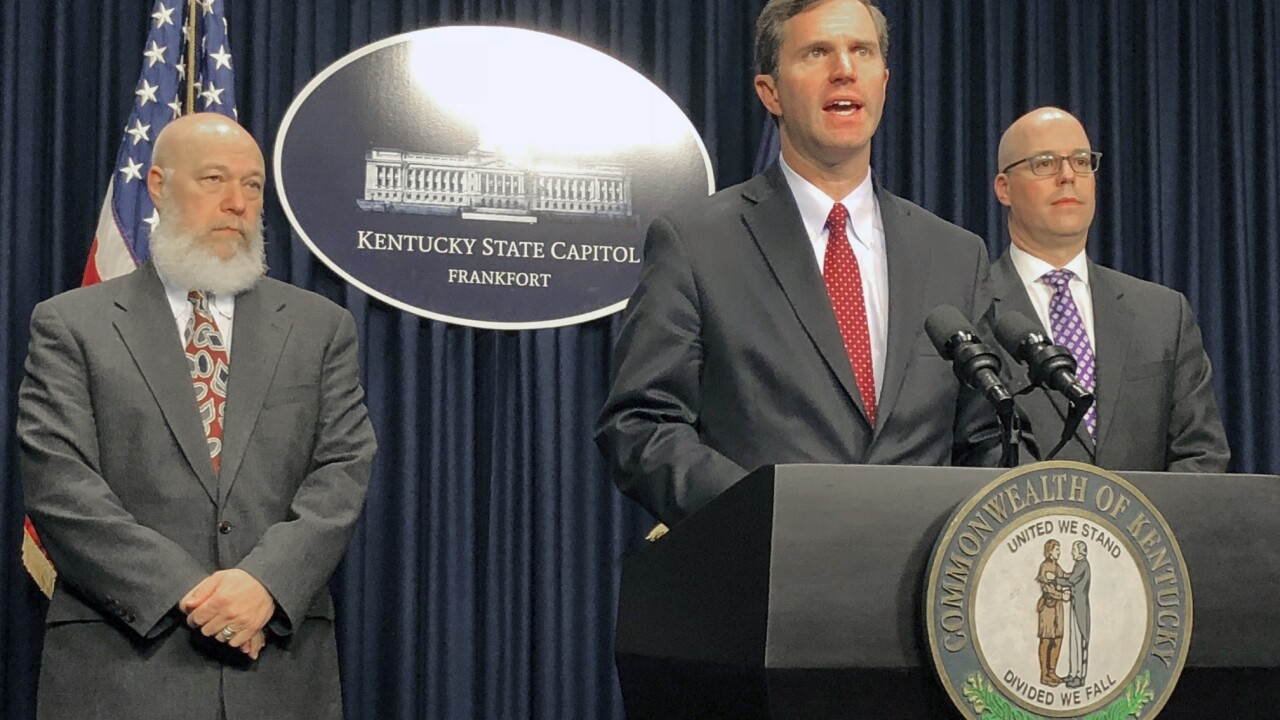 Gov. Beshear: Kentucky losing out on medical supplies to federal government amid COVID-19 pandemic