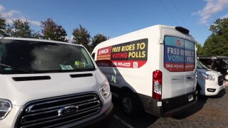 Several options are available for voters to get free rides to polling places