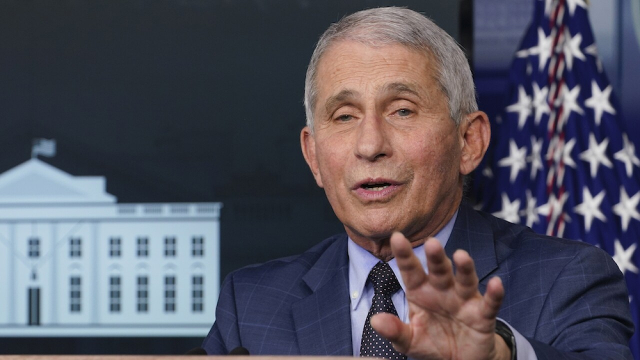 Fauci to speak ahead of Thanksgiving as COVID-19 cases spike across country