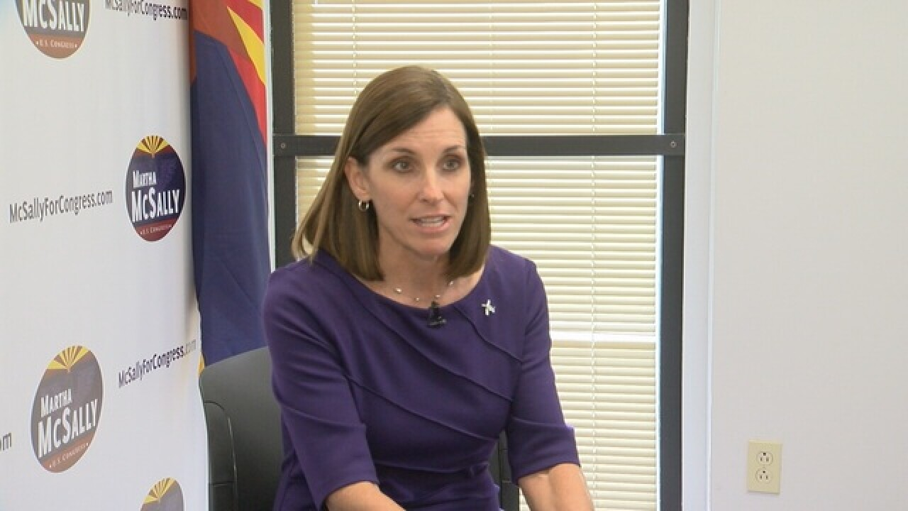 Heinz vs McSally for Congress