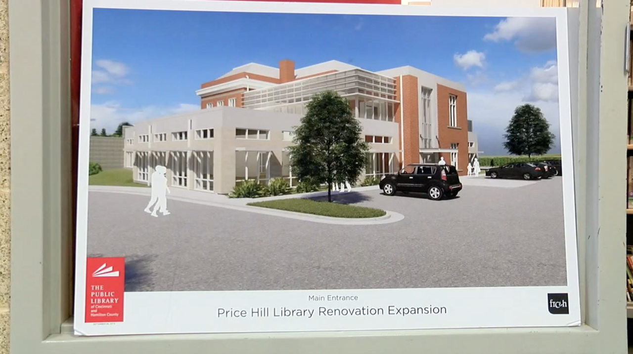 Price Hill Library rendering